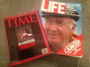 LIFE magazine from 1980. TIME magazine from 2005