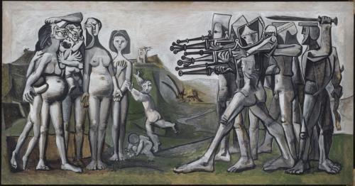 Pablo Picasso, Massacre in Korea