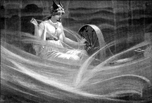 Frigg Spinning the Clouds