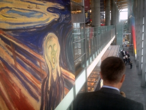 The Scream- Oslo Airport