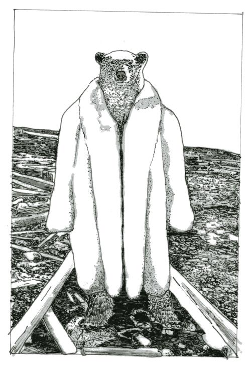 the gentleman in the white coat